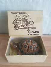 """VINTAGE WADE PORCELAIN TORTOISE TRINKET DISH 3.5"""" MADE IN ENGLAND NEW IN BOX"""