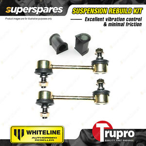 Front Sway Bar Links 21.5mm Mount Bushes for Mitsubishi Magna TE TF TH TJ TL TW