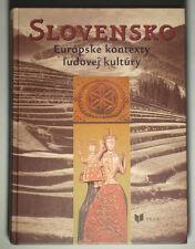 BOOK Slovak Folk Art & Culture European peasant life costume religion music kroj