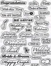 KARS chiaro Rubber Stamp Set-Matrimonio - 180013/1302