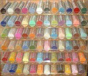 Perlen * ROCAILLES SET* tolle Farben f. Perlentiere * 30 DOSEN ca. 720gr.