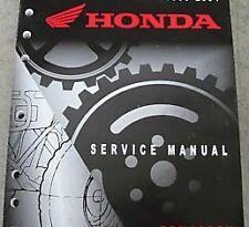 Honda Rincon 680 4X4 OEM ATV Service Repair Manual NEW