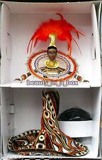 FANTASY GODDESS of Africa NO BOX On Backing For Debox Bob Mackie Barbie Doll
