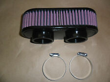 S&B Air Filter fits Rotax 503 w/Dual Bing Carb Hovercraft or Ultralight PN 8528F