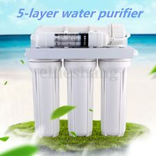 5 Stage Water Filter System Reverse Osmosis Filtration Drink Home Purifier ER01