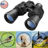 10X50 Compact Binoculars Folding Night Vision Telescope for Adults Kids US Ye