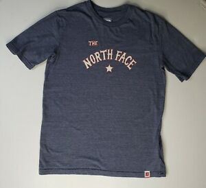 The North Face Boy's Lone Star Logo Graphic Gray T-Shirt YOUTH XL 18/20