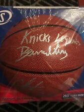 New York Knicks Bernard King Carmelo Anthony Autographed Signed Basketball COA