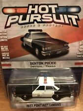 Greenlight  Hot Pursuit 1977 Pontiac Lemans Denton Texas Police