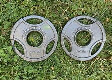"""2.5 lb Olympic 2"""" Weight Plates Pair (2x 2.5LB) - Fitness Gear - FREE Shipping"""