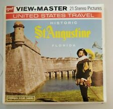 gaf A981 Historic St Augustine Florida Cities Us Travel viewmaster Reels Packet