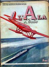 Ala d'Italia dicembre 38