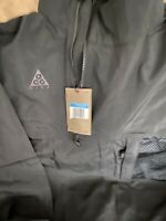 Nike Acg Womens Packable Anorak Jacket BQ3615-010 Medium Trail Hike Zip