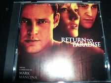 Return To Paradise Original Soundtrack CD By Mark Mancina