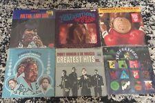 Lot of 6 R&B Soul Vinyl Lp Gordy Tamla Originals