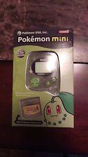 Pokemon mini video game console Chikorita version