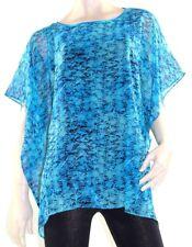 Kaftan Top Caftan Blouse Batwing Plus Size 8 - 22 Women Resort Wear Cover Up