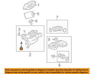 GM OEM Air Cleaner Intake-Box Housing Assy Bolt 15290376