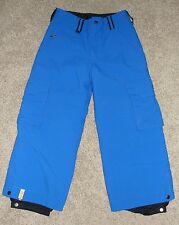 Looks New Girls Bonfire Snowboarding Snow Pants Sz S Youth Blue Solid Snow Pants
