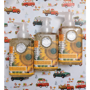 3 Michel Design Works Sunflower Foaming Hand Wash Soap 17.8 oz.