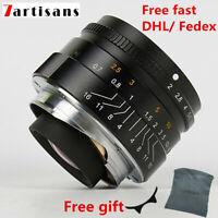 7artisans 35mm F2.0 Manual Focus Lens for Leica M Mount Cameras Leica M2 M3 M6 7