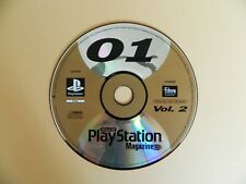 Official UK PlayStation 1 MAGAZINE Demo Disc 01 Vol 2-Command & Conquer Trash