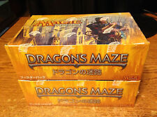 1X DRAGON'S MAZE JAPANESE BOOSTER BOX SEALED / REAL PICS / WRONGWAY052