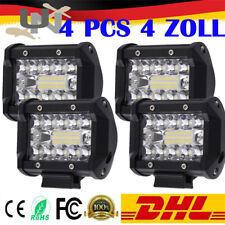 4x60W LED Arbeitsscheinwerfer Offroad 12V 24V Scheinwerfer Traktor Bagger SUV