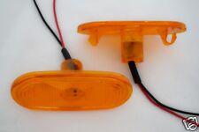 2 X 12V LED feu de position orange ambré FEUX pour VW Volkswagen Crafter OEM