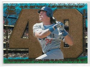 1998 PACIFIC CROWN ROYALE MIKE PIAZZA 40 HR #13