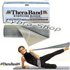 Thera-Band banda ELÁSTICA PLATA 2.5 m (Ultra durable) banda músculos sport