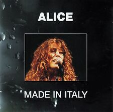 ALICE : MADE IN ITALY / CD