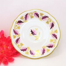 Vintage 1850's English Bone China Saucer by E. Brain / Foley