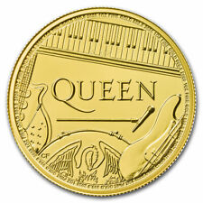 2020 Grande Britain 1 Oz Ouro Music Legends: Queen Bu