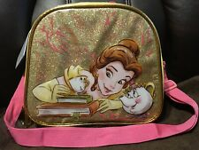 DISNEY PRINCESS BEAUTY & THE BEAST BELLE INSULATED LUNCHBOX BAG - NEW WITH TAGS!