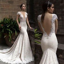 Hot New  white/ivory Mermaid Wedding Dres custom size 2-4--18-20-22 +28+
