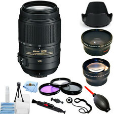 Nikon AF-S DX NIKKOR 55-300mm f/4.5-5.6G ED VR Lens!! PRO BUNDLE BRAND NEW!!