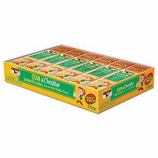 Sandwich Cracker, Club and Cheddar, 8 Cracker Snack Pack, 12/Box 21163 21163 -