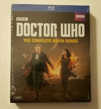 BBC DOCTOR  WHO The Complete Ninth Series blue-ray 4 discs