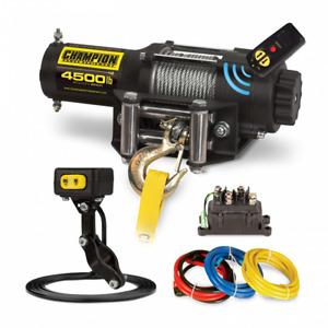 Champion Power Equipment 14560- 4500LB WIRELESS WINCH KIT
