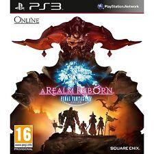 PS3 Spiel Final Fantasy XIV 14 - A Realm Reborn  FF inkl. 30 Tage Zugang NEU