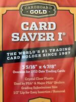 25 pack New Card Saver 1 Holders for PSA BGS Grading - in hand, ready to ship!