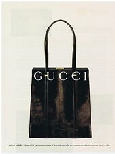 PUBLICITE ADVERTISING 104 1996 GUCCI maroquinerie sacs