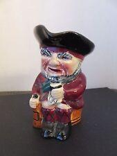 "Vintage Old Staffs Toby Jug ""Scottie"" Shorter & Sons Staffordshire England 4.5"""
