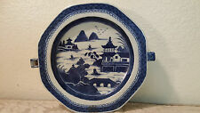Chinese Export porcelain blue/white warming plate dish c.18-19th C.