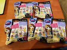 Littlest Pet Shop Cozy Snackers Series 3 blind bag pets - Lot of 5 - NEW! Hasbro