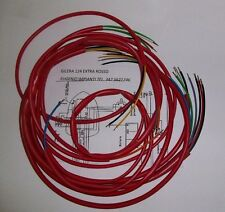 IMPIANTO ELETTRICO ELECTRICAL WIRING MOTO GILERA 124 EXTRA ROSSO+SCHEMA ELETTR.