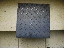 5mm/7mm Stahl Tränenblech Riffelblech Stahl Blech Schachtabde. ca. 285mm x300mm