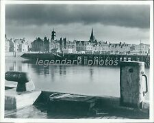 Beautiful View of Water and City in Scotland Original News Service Photo