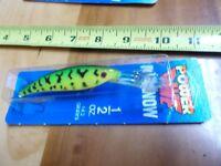 Luhr Jensen Power Dive Minnow 1/2 oz. Lure Fishing  NIP Fire Tiger